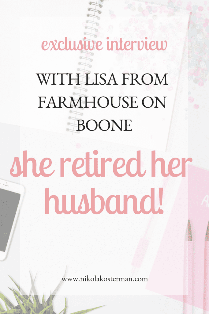 create your dream blog farmhouse on boone lisa bass blogging course for beginners