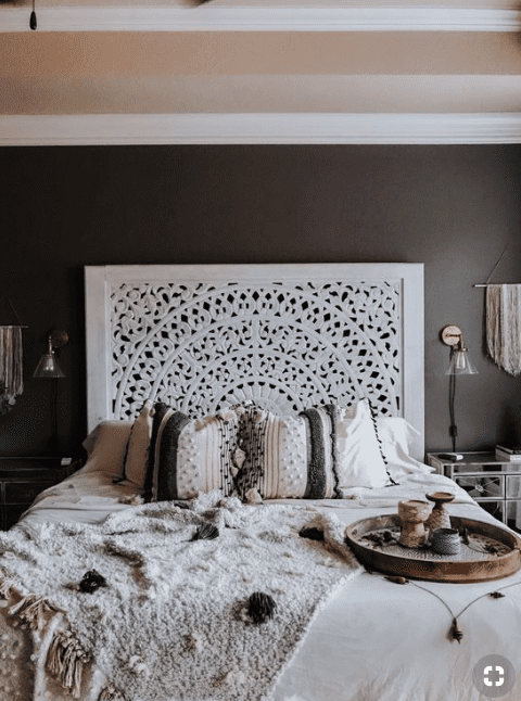 Boho Master Bedroom Ideas That You Need To See! - Nikola ... on Boho Master Bedroom Ideas  id=91881