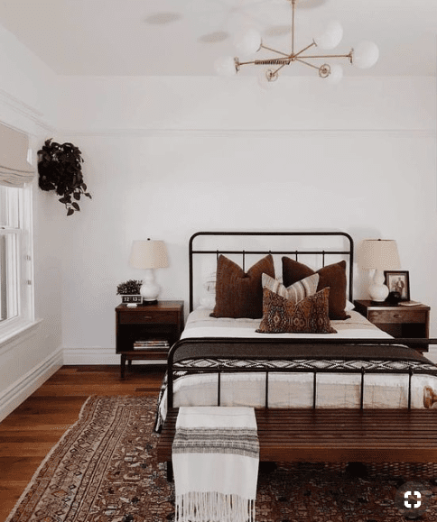 Boho Master Bedroom Ideas That You Need To See! - Nikola ... on Boho Master Bedroom Ideas  id=90415