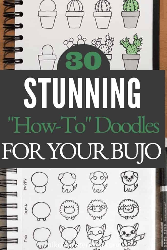 30 Stunning Bullet Journal Doodles!