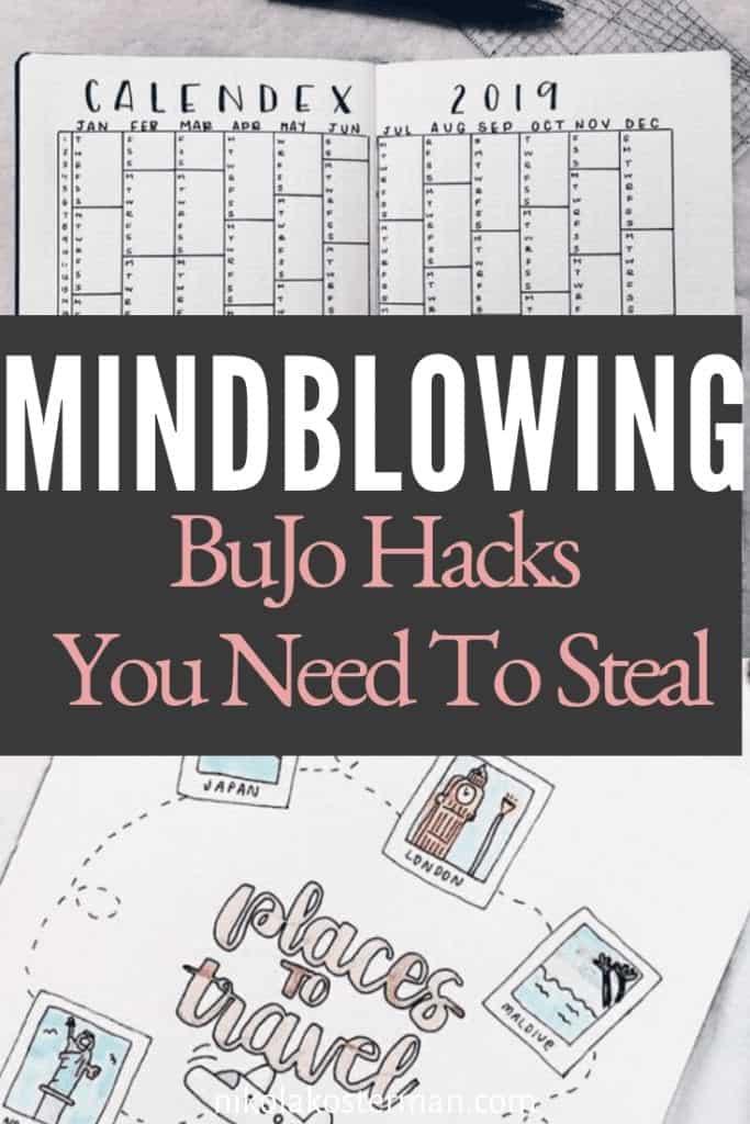 12 Bullet Journal Hacks that Actually Work!