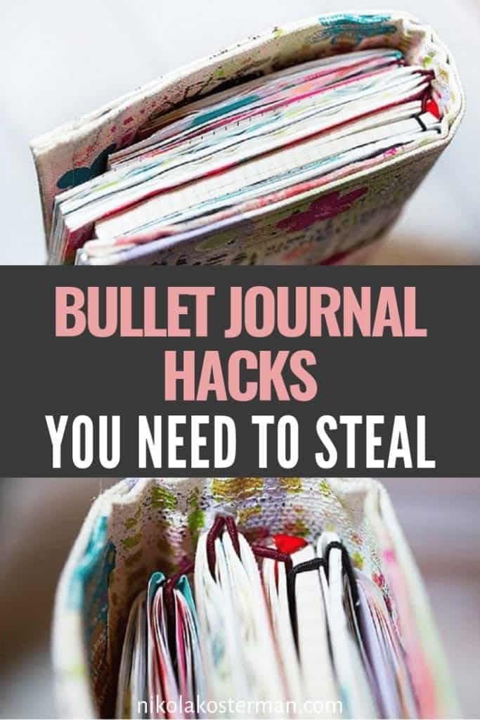 12 Bullet Journal Hacks that Actually Work!