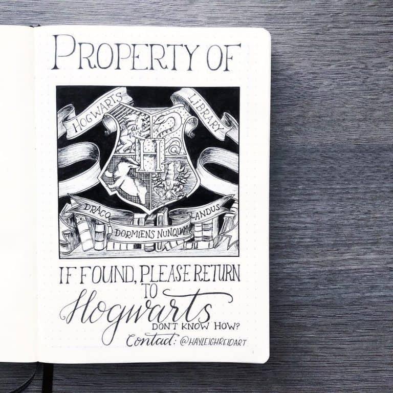 Harry Potter Bujo