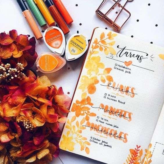 Fall Weekly Spread