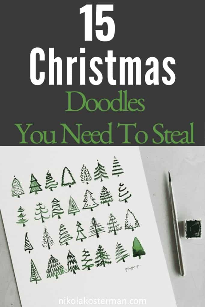 15 Christmas Bullet Journal Doodles You Need to Steal!
