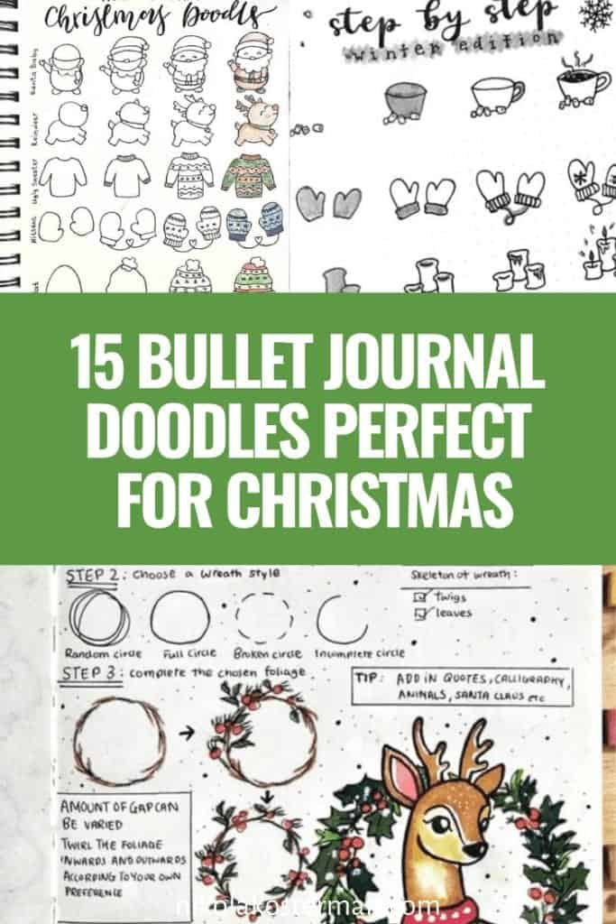 15 Bullet Journal Doodles Perfect for Christmas