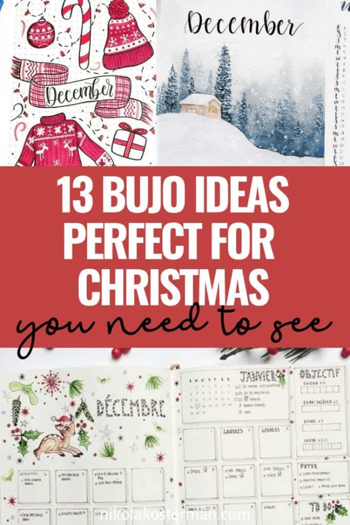 13 bujo ideas perfect for Christmas you need to see