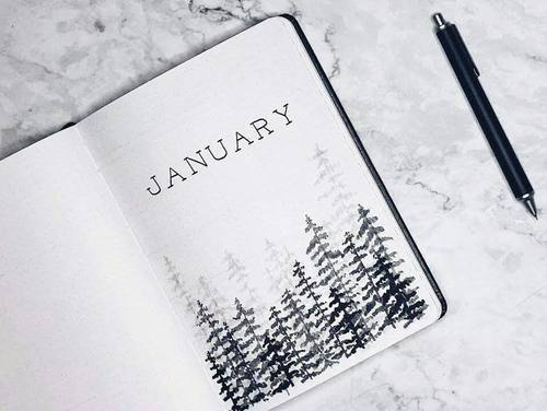 January Monthly Cover Page
