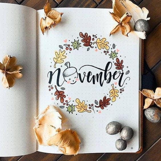 November Cover Page