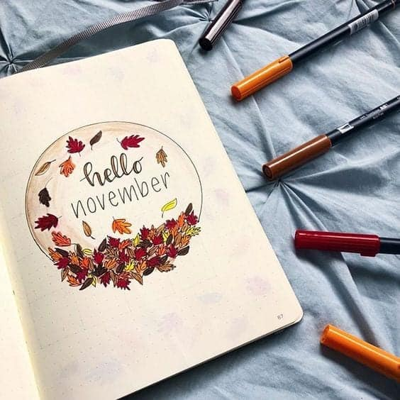 Hello November Cover Page