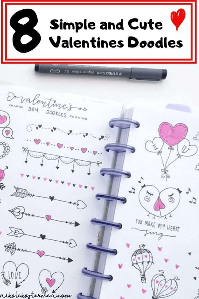 8 Simple & Cute Valentines Day Doodles