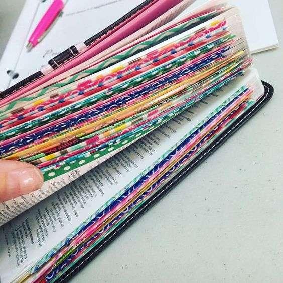 Washi tape bullet journal hack