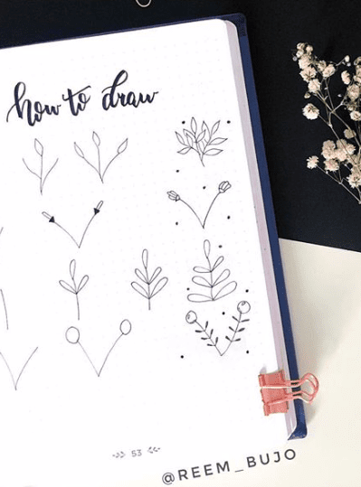 how to draw simple branches