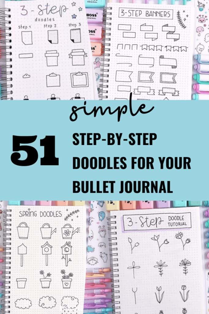 51 Easy Bullet Journal Doodles