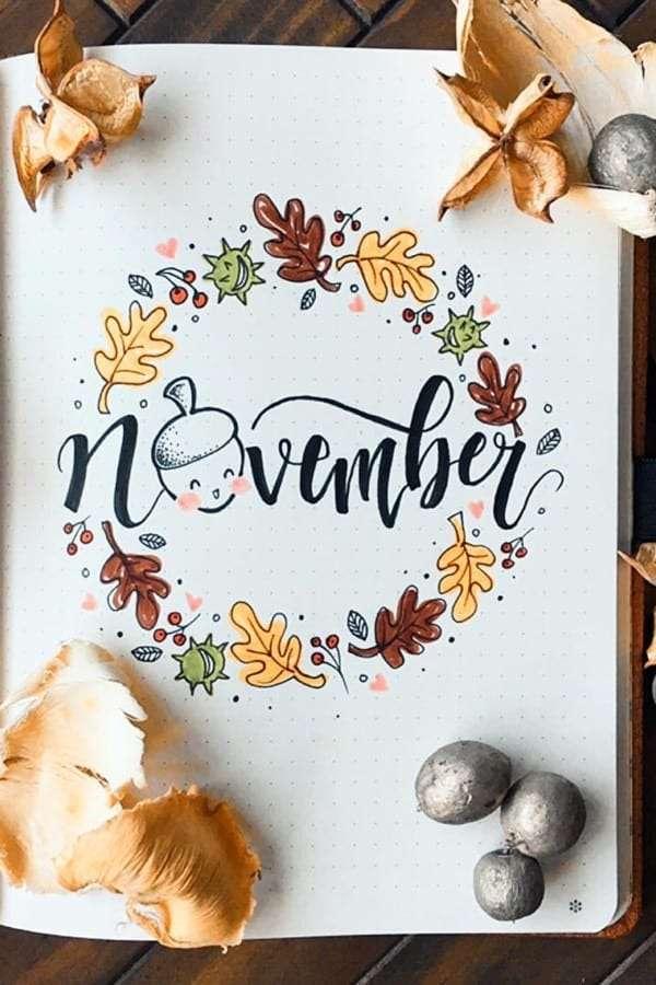 November-Bujo-Front-PAge