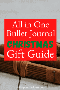 All in One Bullet Journal Christmas Gift Guide