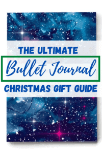 The Ultimate Bullet Journal Christmas Gift Guide